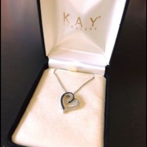 KAY Jewelers Heart Shaped Necklace